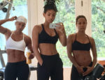 Jada Pinkett Smith, Mom and Daughter Show Off Impressive Abs!