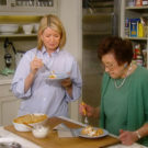 Martha Stewart and Mom Make Macaroni and Cheese (Video)