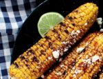Dania Ramirez's Grilled Corn with Queso Fresco