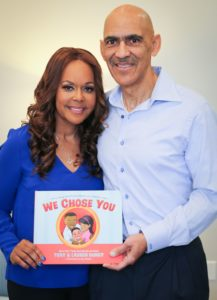 "Tony and Lauren Dungy Discuss Motivation Behind New Book, ""We Chose You: A Book About Adoption, Family and Forever Love."" (Interview)"