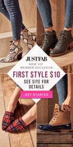 JustFab Fall Boots Have Arrived! Become a VIP Member & Get Your First Style for $10! #Ad