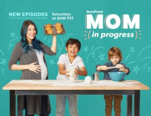 BuzzFeed's Hannah Williams is Pregnant and Back for Season 4 of 'Mom In Progress' (Interview)