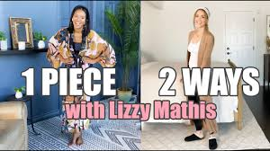 At-Home Fashion with Jessica Alba and Friend Lizzy Mathis: Styling 1 Piece 2 Ways